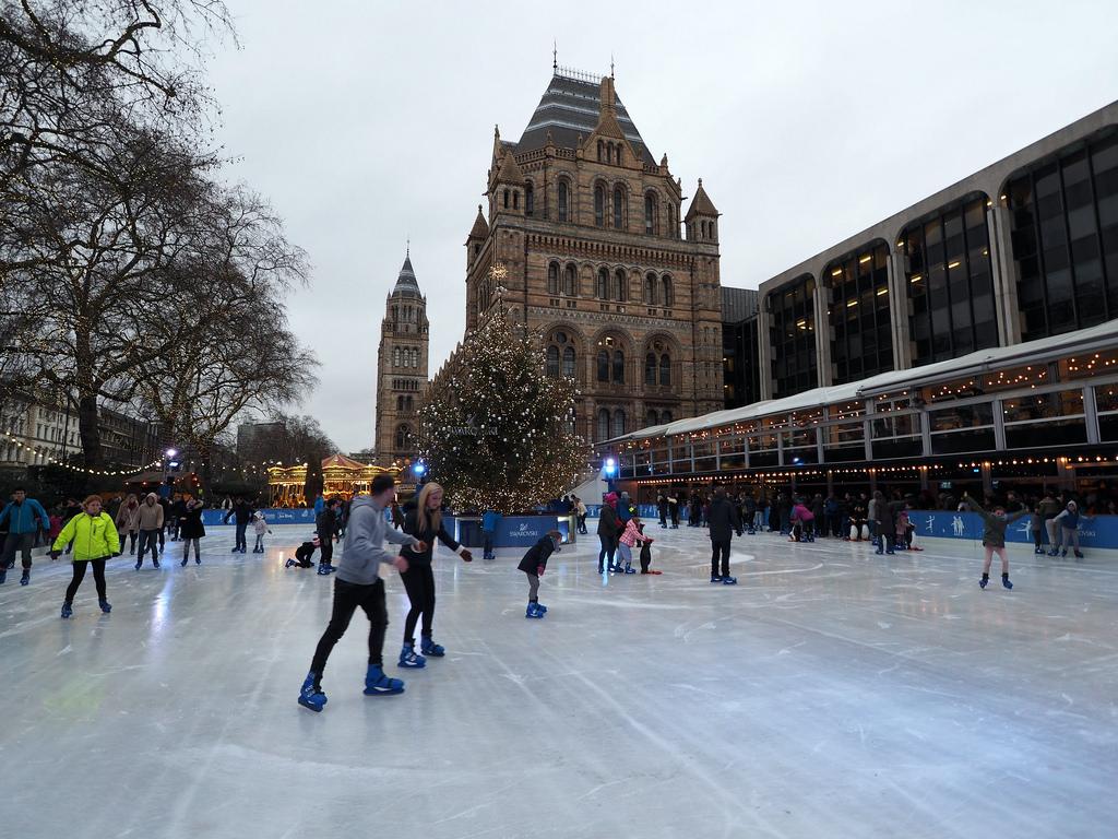 Skating London, Ice rinks London